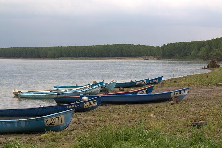 Лодките на Байкал