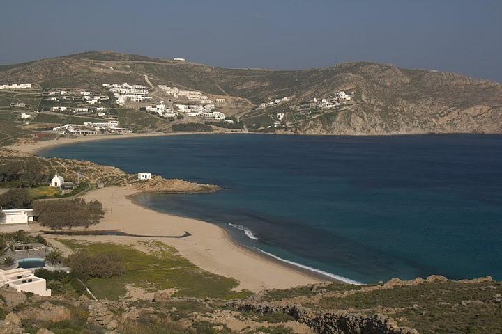 Плажът Елиа