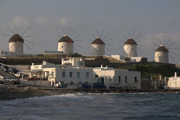 Вятърните мелници в Хора