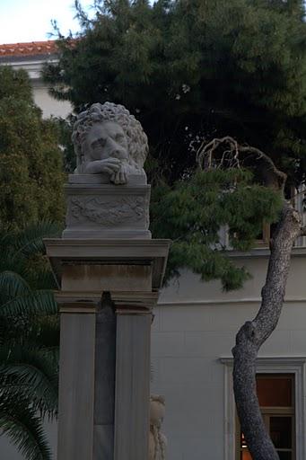 Тъжен венециански лъв