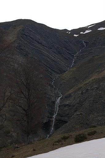 Водопад по пътя към Пликати