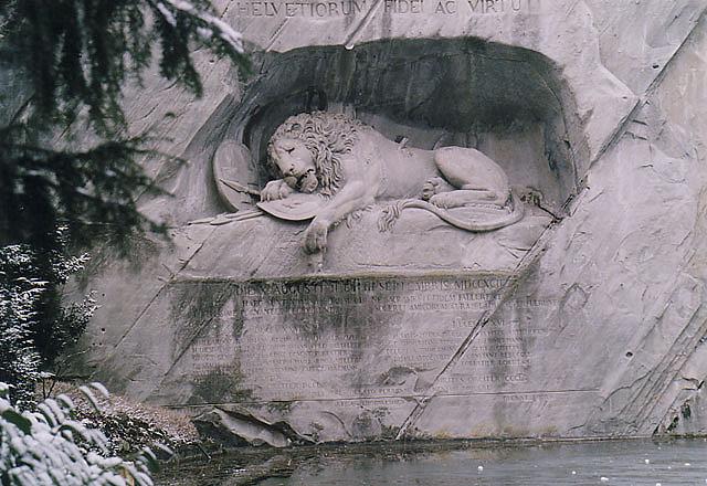 Най-тъжният лъв на света
