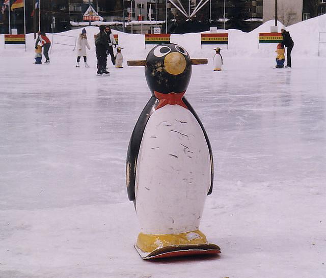 Пингвин за начинаещи кънкьори