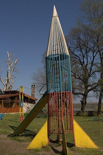 Истинска детска ракета - действаща!