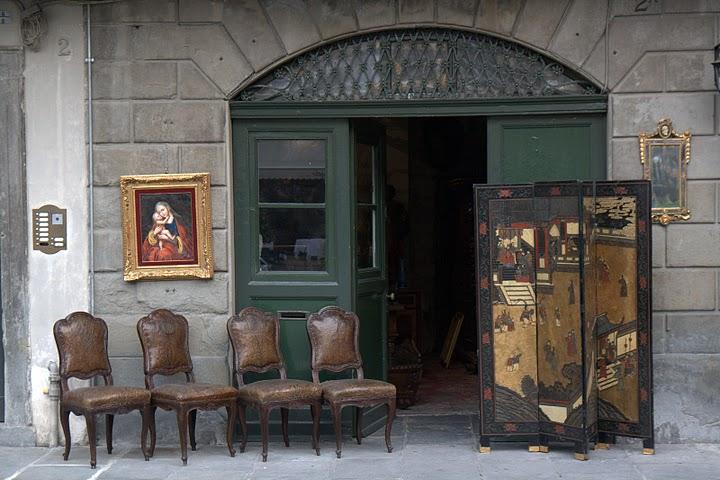 Столове в стария град