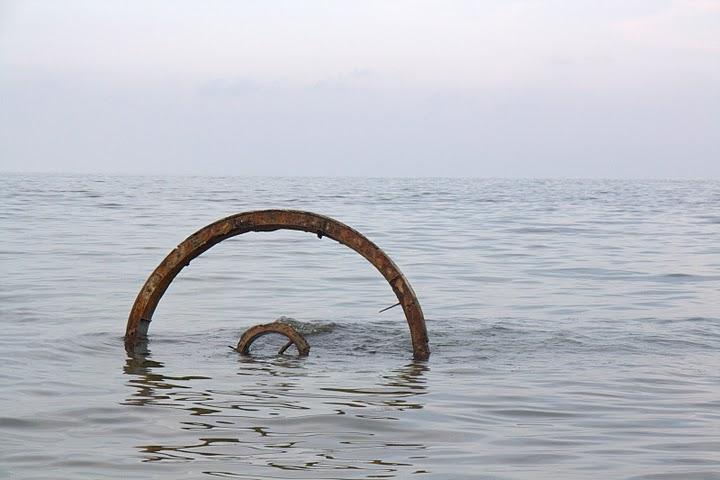 Колелото в морето на Крапец