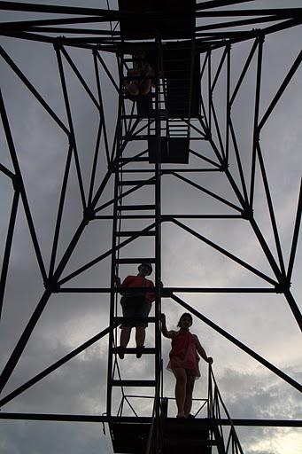 Наблюдателна кула край екс-къмпинг Крапец