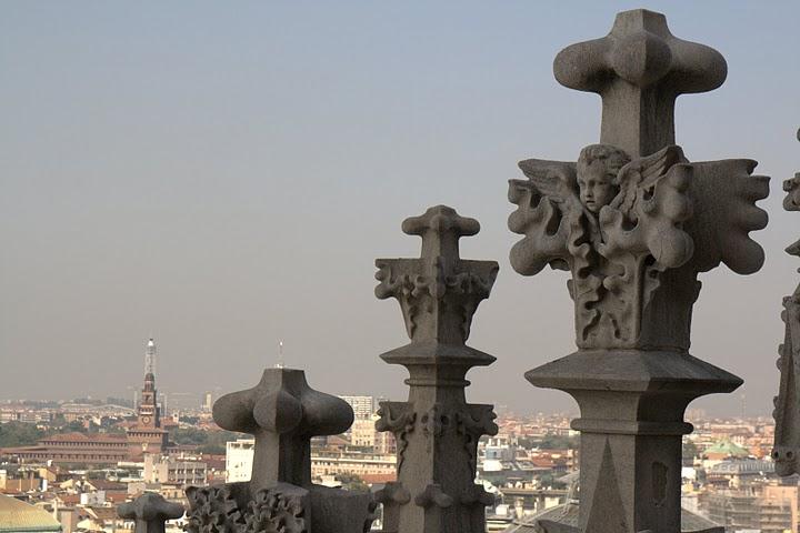 Покривът на катедралата
