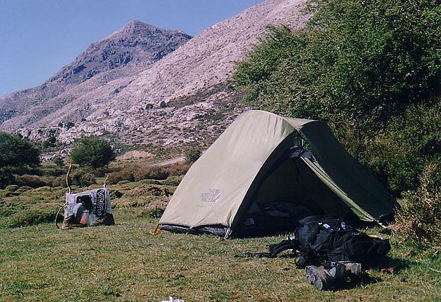Палатка до ски курорта