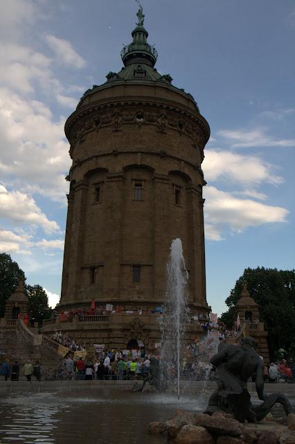 Протест за басейн при Водната кула