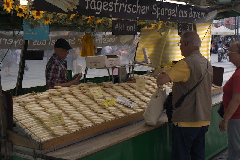 Време е за пресни баварски аспержи