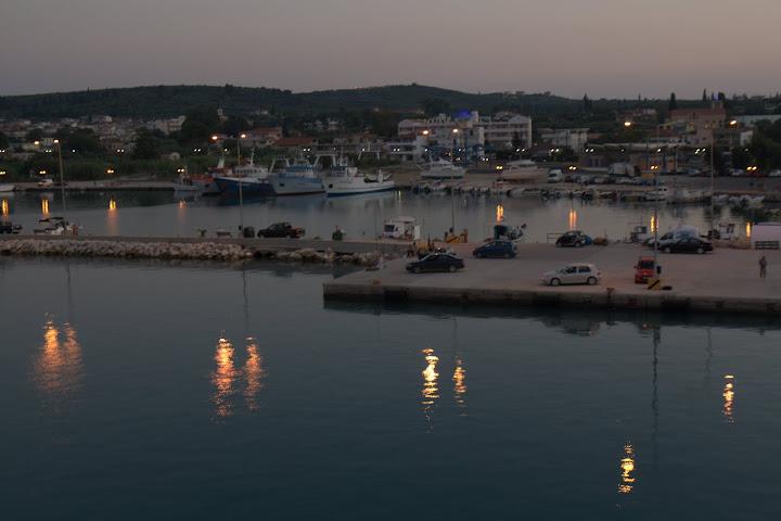 Пристанището на Килини