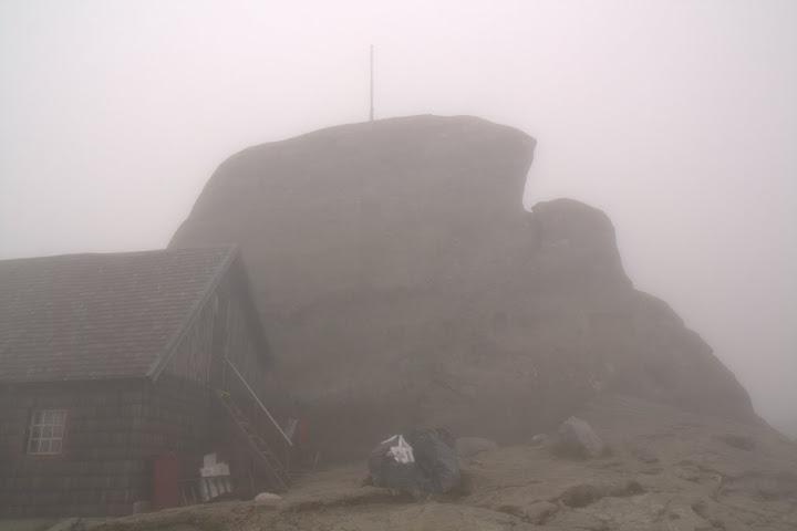 Мъгла на връх Ому