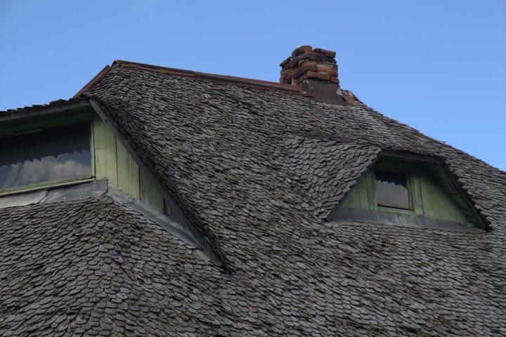 Карпатски покрив от дървени керемиди