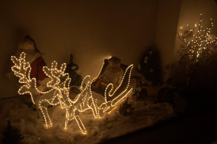 Коледната украса в къщата в Рин