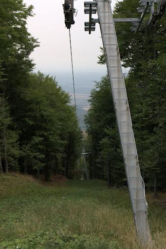 Пистите в гората на Кекеш