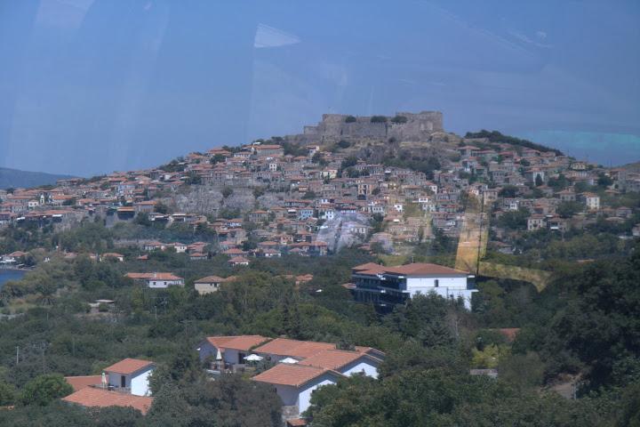 Крепостта в Петра от автобуса