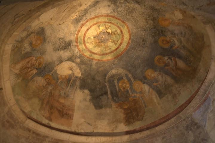 Таванът на църквата