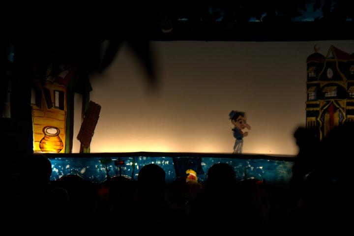 Открит куклен театър