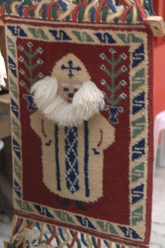 Дядо Мраз на килимче
