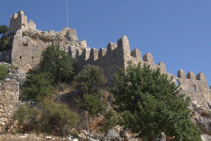 Крепостта в Калекьой