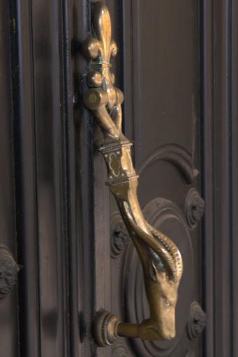 Дръжка на врата като слънце