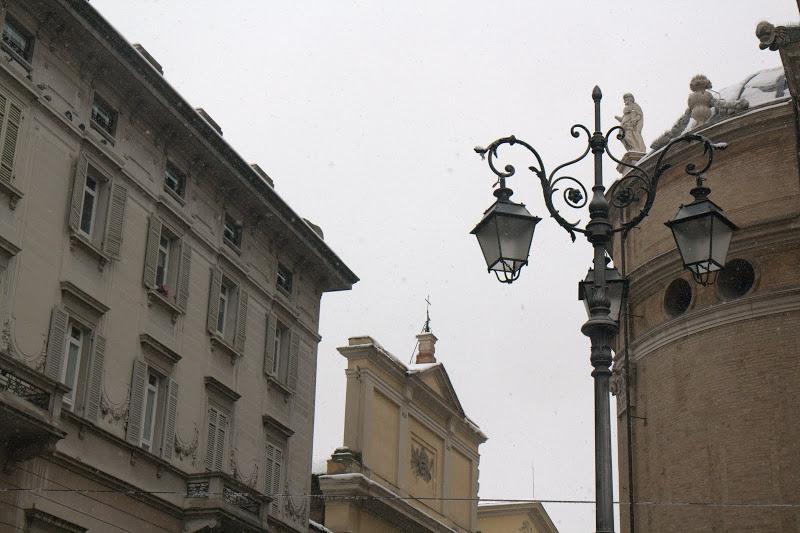 Пармаска импресия с лампа