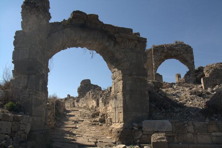 Руини от стария Аспендос