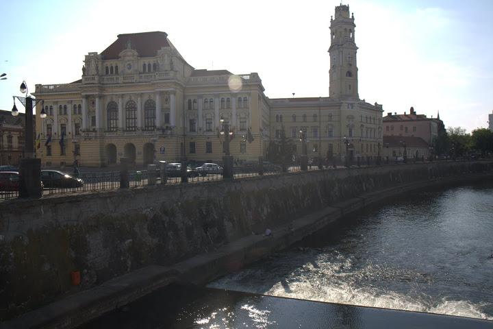 Реката в центъра