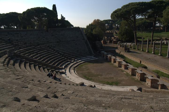 Амфитеатър като слънце