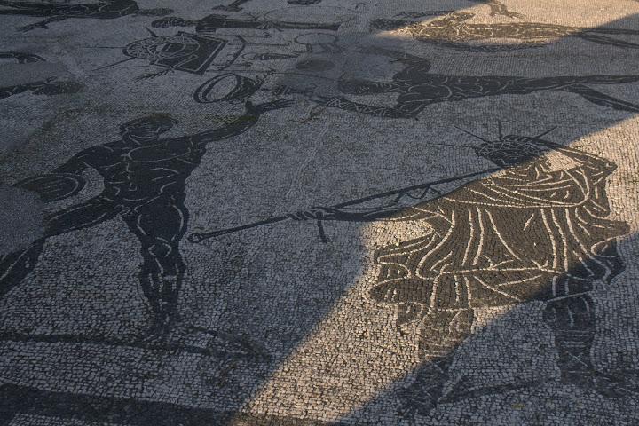 Мозайки с атлети