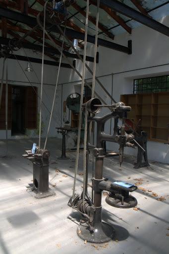 Машинарии в музея воденица