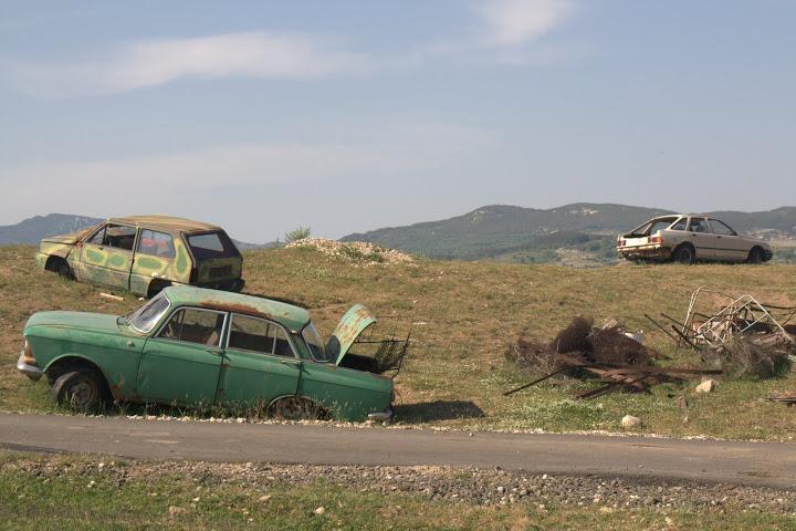 Автогробище край Китна