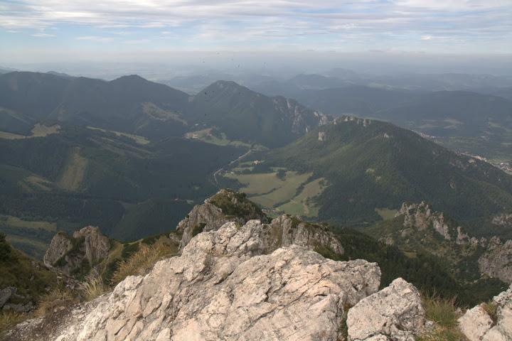 Мала Фатра е като цяло заоблена планина