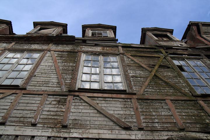 Дървена германска къща