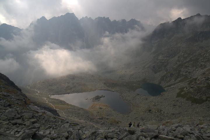 Езерата под върха