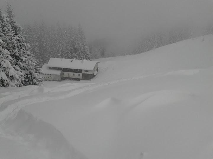 Пада и големият сняг