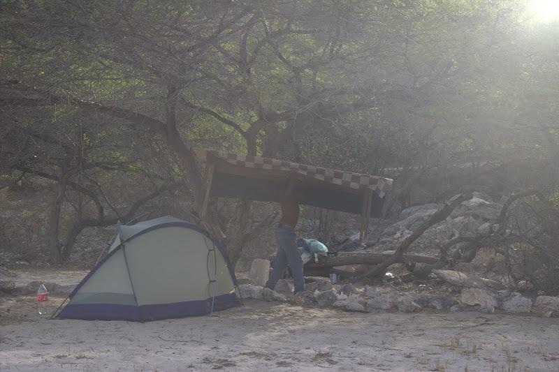 Палатките до рейнджърската къща