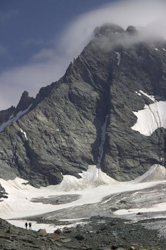 По ледника под Гросглокнер