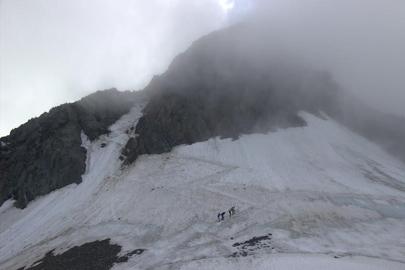Ледника към върха