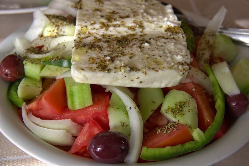 Гръцка салата, мхм!