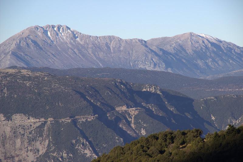 Гледка над село Катарактис