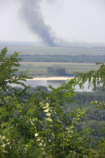 В Румъния нещо гори