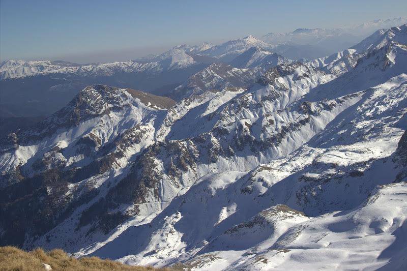 Билото на Лакмос и други планини на югоизток
