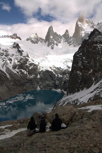 Лагуна де лос Трес - гледката към върхарите