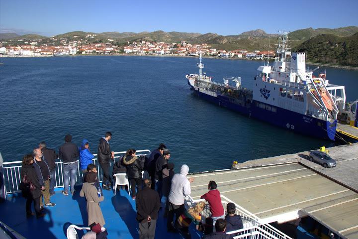 Мигранти на палубата