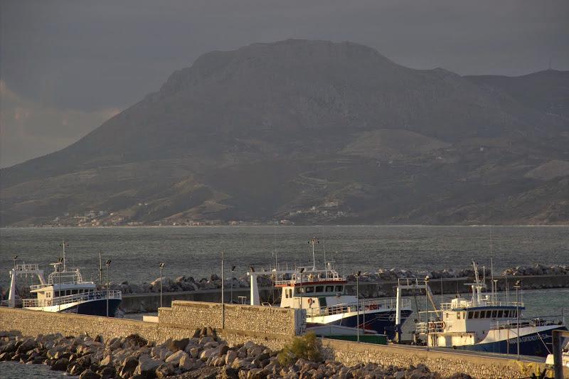 Гледка от пристанището