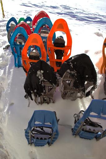 Снегоходки за пешеходците