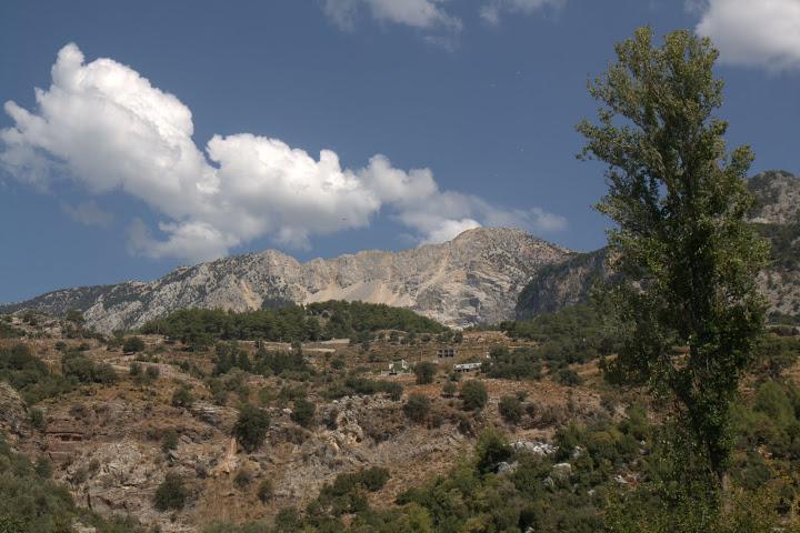 Гледката над село Кирме