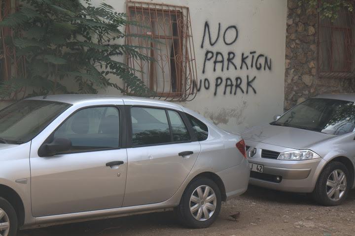 И за кръстоносци няма място за паркиране